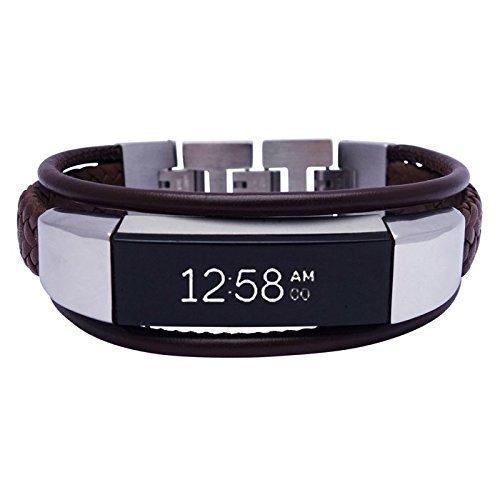 8c9d502fbd36 Fitbit Alta - Alta HR -Jewelry - Aurel 2- Brown - stainless steel ...