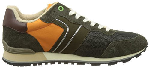 BOSS Green Parkour_Runn_Nymx 10191435 01, Zapatillas Hombre Verde (Dark Green 306)