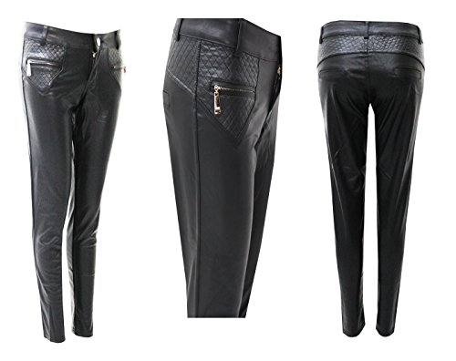 Envy Vaqueros mujer Pantalones para Boutique negro qv8Zrqn