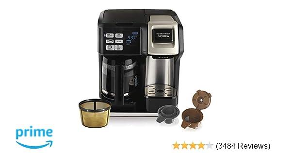 Amazoncom Hamilton Beach 49950c Flexbrew Coffee Maker Single