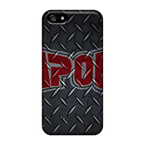 Great Hard Cell-phone Case For Iphone 5/5s With Unique Design High Resolution Tapout Image KimberleyBoyes