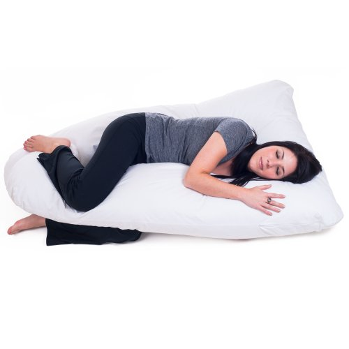 Lavish Home Full Contoured Body Pillow, Maternity/Pregnancy Support