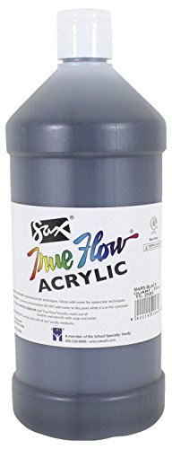 Sax True Flow Medium Bodied Acrylic Paint - Quart - Mars Bla
