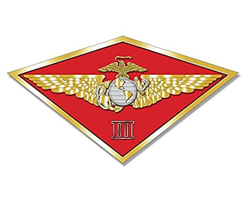 Marine Air Wing - MAW 3rd Marine Aircraft Wing Sticker (diamond shaped decal usmc)- Sticker Graphic Decal