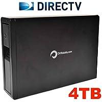 4TB DVRdaddy External DVR Hard Drive Expander For DirecTV HR34, HR44 and HR54 Genie DVR. +4,000 Hours Recording Capacity and!