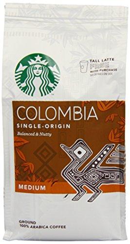 Starbucks Columbian Ground Coffee 200 g (Pack of 6)