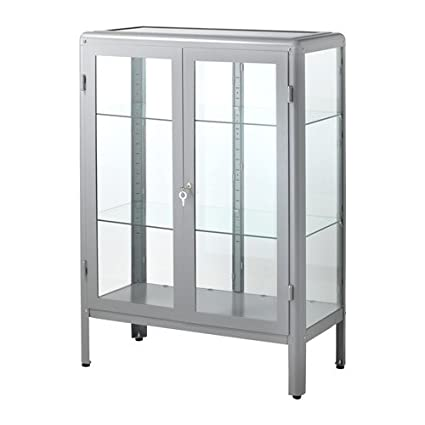 Amazoncom Ikea Glass Door Cabinet Gray 31 78x44 12 142820115