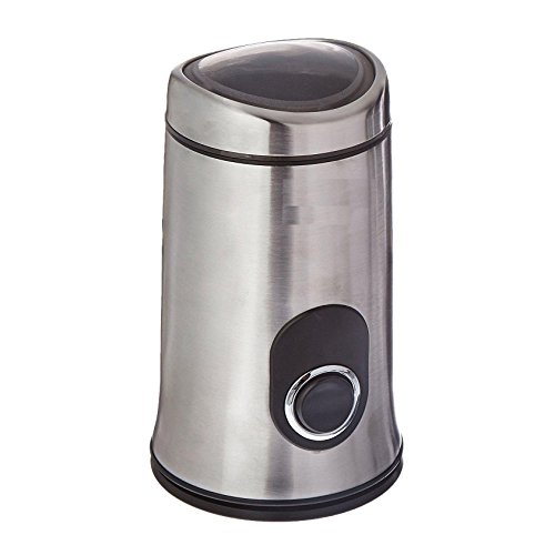 Ninja Electric Coffee Bean Grinder with Safety Lock Push Button SP7407, Stainless Steel