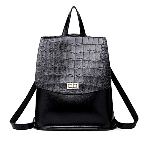 Black Donna Per Borsa color Da Zaino Black Ploekgda Donna Viaggio pIqSw8
