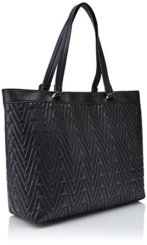 Versace Jeans Damen Ee1vrbby4 E70040 Handtasche, Eimerform, Schwarz, 12x28x39 cm