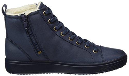 ECCO Alto Donna 7 a Sneaker Marine Blu Ladies Collo Soft wArnYqgwC