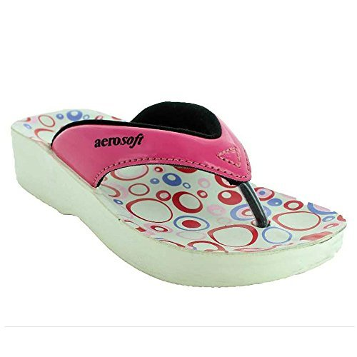 Aerosoft Hip-Hop Girl's Sandals 13 Fuchsia by Aerosoft Footwear