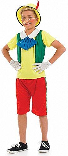 Fun Shack Child Pinocchio Costume - AGE 4 - 6 YRS (S) by Fun Shack