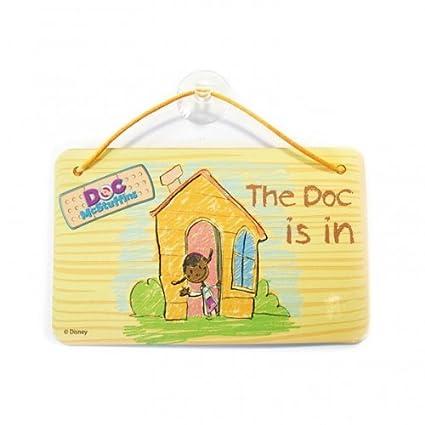 Amazoncom Doc Mcstuffins Birthday Party Door Sign Favours X 6