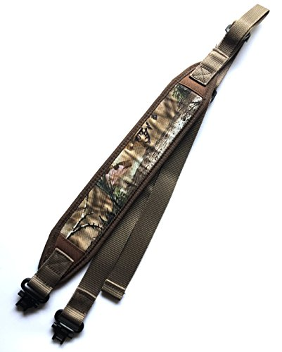 Ade Advanced Optics Padded Rifle Sling Shoulder Strap, Camouflage