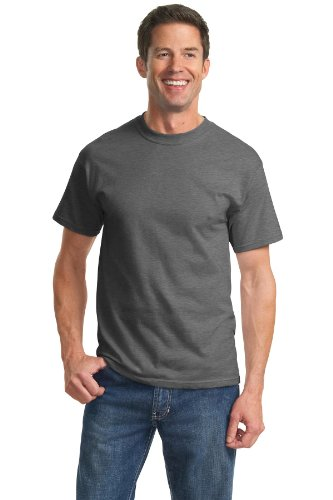 port-company-mens-tall-essential-t-shirt-xlt-dark-heather-grey