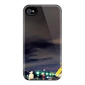 For Iphone 4/4s Fashion Design Scenic Eiffel Tower Case-woU786roRc