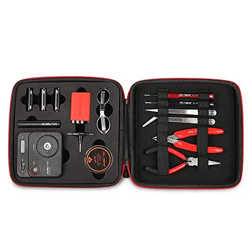 Coil Master 100% Authentic DIY KIT V3 Tool SET with Latest Coil Jig (V4) / 521 Tab Mini ohm reader/Tweezers/NEWEST Tool Kit, Great for Jewelry and Home Repairs Exclusive LifeMods Bundle Edition - vapecentral.us