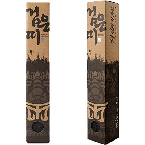 (Mooto Korea Taekwondo DO Black Belt Width 5cm Double Wrap Martial Arts TKD Judo Karate (Length)