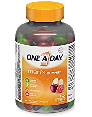 One A Day Men's Gummies Multivitamin, Specially Formulated with Vitamins for Men 130 count