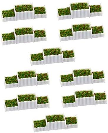 sharprepublic 情景コレクション 1:75 花壇モデル 庭園 公園 街路 マイクロ風景 ジオラマ 箱庭 プラスチック
