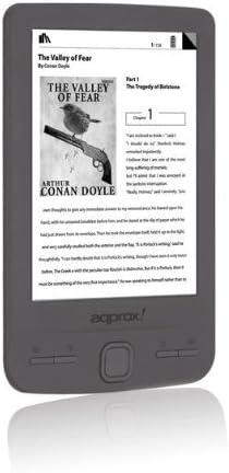 Approx APPEB06G - Lector de eBooks (pantalla de 4.3