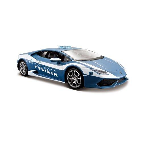 Maisto 1:24 Lamborghini Huracán Polizia Diecast Vehicle (Colors May Vary)