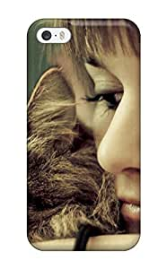 Awesome WiDWetk8589aYxTd Defender PC Hard For SamSung Galaxy S4 Mini Phone Case Cover - Cat And Girl