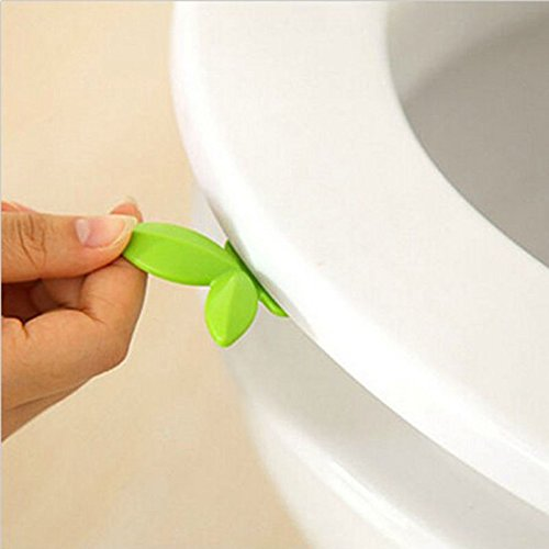 JD Million shop New Leaf Shape Toilet Seat Handle Seat Cover Lifter Avoid Touching Clean Style - Niagra Outlet