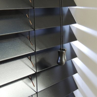 black wooden blinds. Black Wooden Blinds In Custom Sizes