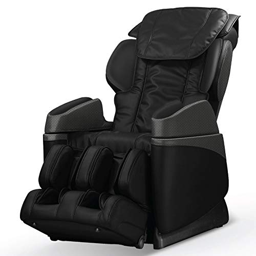 Osaki OS-3700B Massage Chair, Unique Arm Massage, Foot Rollers, and Lower Lumbar Heat (Black)