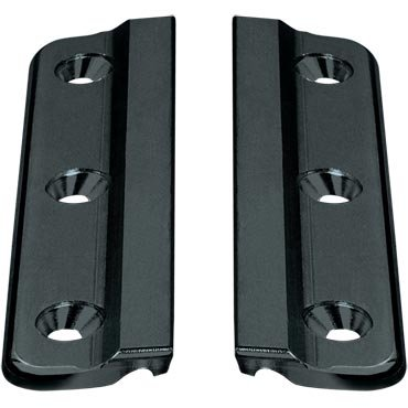 Ronstan S19 Luff Groove Track Fixing Plate, (Pair)
