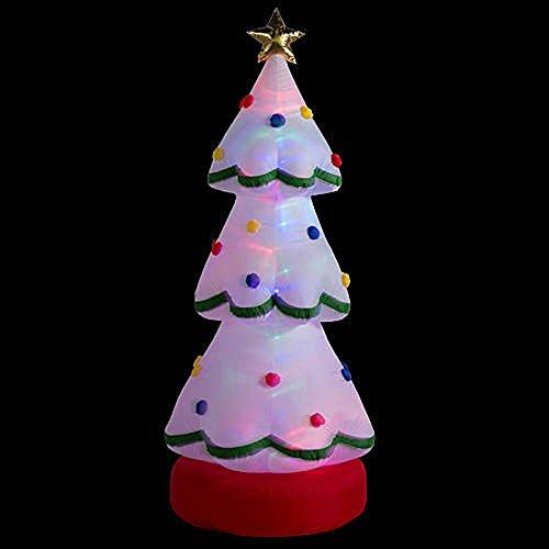 Rotating Christmas Tree With Led Lights