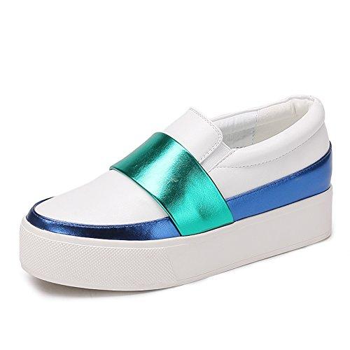 La caída de zapatos de suela gruesa plataforma/Zapatos de mujer/escoge los zapatos/Mujer tacones/Zapato del plano/Calzado Lazy B
