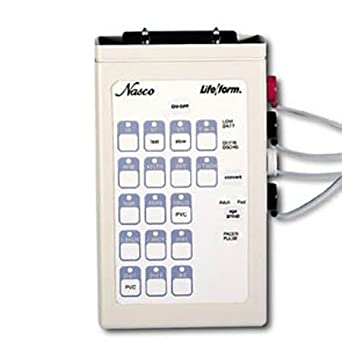 Amazon com: Nasco Interactive Ecg Simulator - Model LF03670U