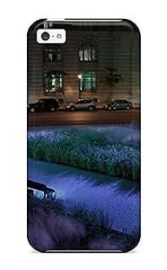 Noar-Diy 5c Scratch-proof protective case cover For Iphone/ Hot Un Parc Du Vieux Montreal F1Hp85JDY7Z cell phone case cover