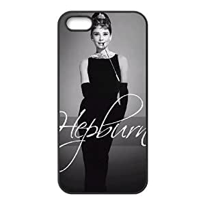 Audrey Hepburn Pattern New Printed Case for Iphone 5,5S, Unique Design Audrey Hepburn Pattern Case