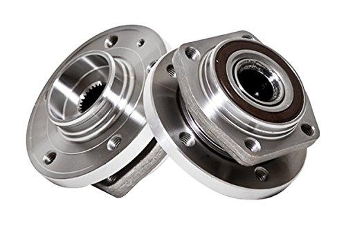 Callahan 513174X2 [2] Pair FRONT Premium Grade [ 5 Lug ] Wheel Hub Bearing Assemblies [ 513174 ] ()