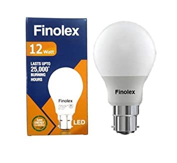 Buy Finolex Led Bulb 12 W B22 650 Multicolour Pack Of 4 Online At Low Prices In India Amazon In