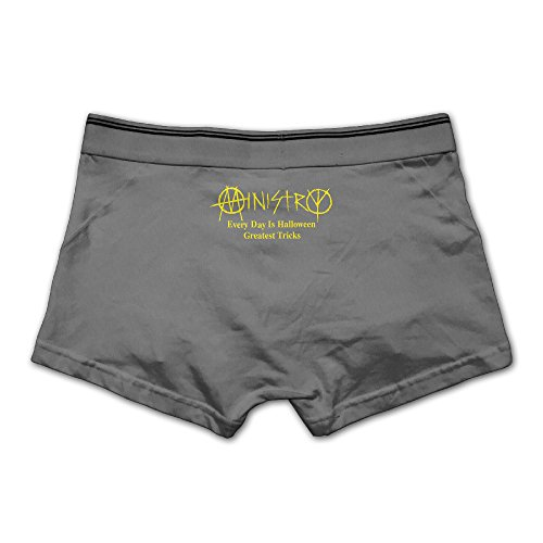 Ministry Every Day Is Halloween The Anthology Man's Boxer Briefs Underwear