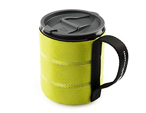 GSI Outdoors Infinity Backpacker Mug, Green (Best Way To Rehydrate After Cutting Weight)