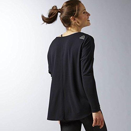 Reebok - Studio Lux Wool Blend Cover Up, colore: nero, taglia L: Amazon.it:  Sport e tempo libero