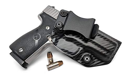Concealment Express IWB KYDEX Holster: fits Kahr K9 (CF BLK, RH) - Inside Waistband Concealed Carry - Adj. Cant/Retention - US Made