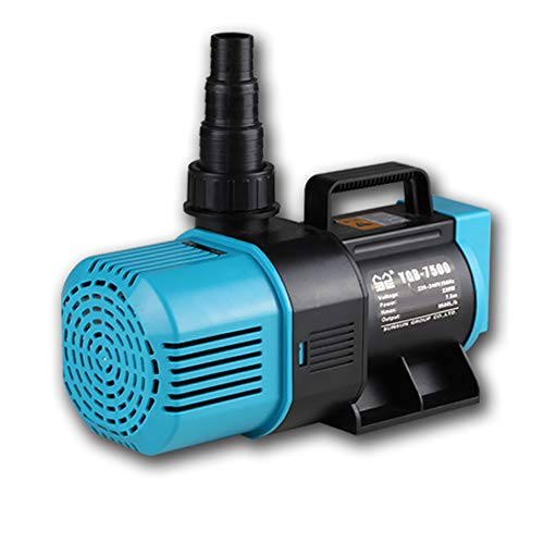 Submersible Water Pump 6500L/H 95W Ultra-Quiet Fountain Water Pump, for Pet Fountain, Aquarium, Pond, Fish Tank, Statuary Water Pump Hydroponics, Model: YQB-5500