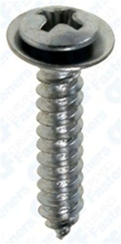 Chrome Flush Screws - 100 #8 X 7/8