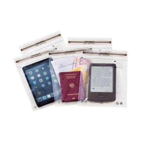 Noaks Bag M   5 x - Schutzhülle   ZIP Beutel   Packsack - 100% wasserdicht, geruchsdicht & sicher