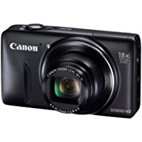 Canon Digital Camera Power Shot Sx600 Hs 18x Optical Zoom Pssx600hs - International Version (No Warranty)