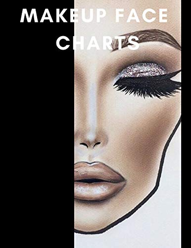 Makeup Face Charts: A Bold Blank Paper Practice Face for sale  Delivered anywhere in Canada