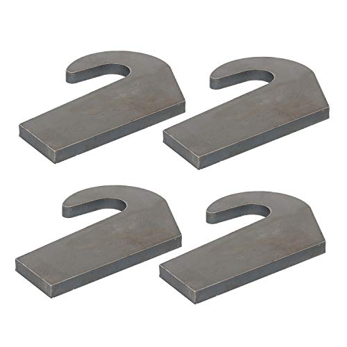 4 Weld On Mounting Brackets New for Pin Type Over The Bucket Loader Pallet Forks from Threemom