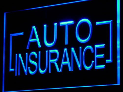 Auto Insurance Car Shop LED Sign Neon Light Sign Display i793-b(c)